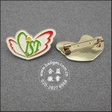 Distintivo molle di marchio del bollo di Pin del risvolto dello smalto della moneta (GZHY-SE-001)
