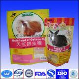 Sacchetto di imballaggio per alimenti dell'animale dell'onere gravoso