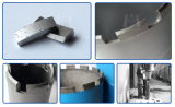Concrete Cutting를 위한 지붕 Type Square Hole Drill Bit Segment