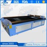 Machine de découpage de découpage en cuir acrylique de laser de gravure de qualité