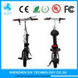""""""" adulto 12 que dobra a bicicleta elétrica com bateria de lítio"""