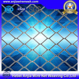Panel de malla de alambre de metal desplegado de aluminio