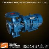 Pompe à eau centrifuge de canalisation d'Isw, pompes horizontales centrifuges