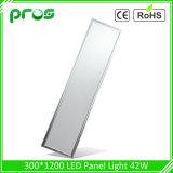 Painel de luz LED de 40 W 30*120, Luz do Painel ultra fino