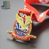 Su ordinazione incisi la medaglia corrente di sport del metallo Bronze della pressofusione