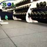 1m*1mの白いゴム製体操のフロアーリング