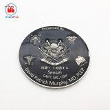 エポキシが付いている二重側面デザイン金属の警備員の硬貨