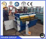 Tipo máquina de corte QH11D-2.5X1300 da elevada precisão da guilhotina da placa de aço de carbono