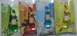 5ml車のハングの香水瓶のためのガラス香水瓶、車のFresheners木、自動芳香剤ディスペンサー
