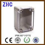 Caixa de junção impermeável plástica do ABS IP66 da tampa ao ar livre do espaço livre da caixa do cabo 240*160*120 elétrico