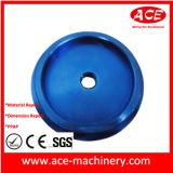 A anodização azul Parte Lathing CNC de alumínio