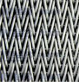 Roestvrij staal Conveyor Belt met Baffle