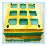 Peças elevadas da carcaça do manganês da placa do forro para o triturador de maxila