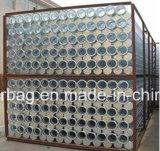 Compartimento do Filtro com tratamento Zinc-Plated para filtro de mangas