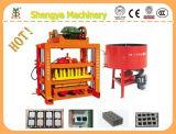 Haut de la réputation de la machinerie en brique de ciment Making Machine Qtj4-40