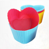 새로운 디자인 DIY 소형 심혼 모양 Food-Grade 실리콘 케이크 형