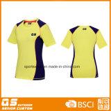 T-shirt à séchage rapide des sports en plein air des femmes