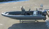 Aqualand 26pieds 8m 14personnes patrouille militaire rigide /la nervure de sauvetage Bateau à moteur (rib800)