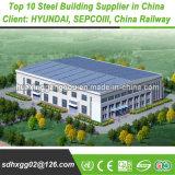 Soluções normalizadas utilizadas no campo Industrial Armazém de logística da estrutura de aço