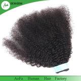 Haut de la qualité des cheveux mongol Afro Kinky Curly Virgin Remy Hair