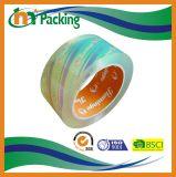 Il prezzo di fabbrica personalizza il nastro dell'imballaggio di BOPP stampato marchio