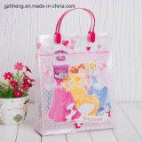 Vendita Plastic Shopping Bag con Clip Handle (sacco di PVC/PE)