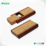 Flash Drive USB nueva de madera con el logotipo Customzed (WY-W12)
