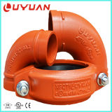 FM UL Ce tuyau cannelé d'approbation d'attelage pour système de sécurité incendie