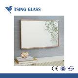 specchio d'argento di 6mm per la stanza da bagno della mobilia decorativa/parete