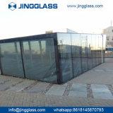 階段手すりのための3-19mmの安全十分に緩和されたガラス