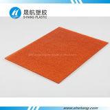 Poli piastrina impressa colorata del carbonato PC con lo SGS
