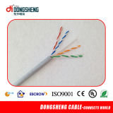 23AWG cabo CAT6 do Cu UTP