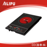 Conformité de CB avec le métal renfermant le cuiseur infrarouge électrique de tailles importantes d'écran tactile avec des traitements