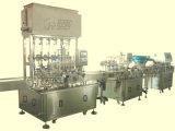 Embotelladora automática para el vario empaquetado del líquido y de la goma