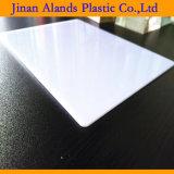Manufactory acrilico della scheda del plexiglass di bianco del materiale 2mm