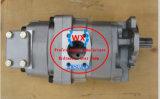 A fábrica~Wa470-3. Wa450-3. O FS450T-3 para pá carregadeira de rodas Komatsu Bomba de engrenagens hidráulica da pá carregadeira: 705-52-30280 partes separadas.