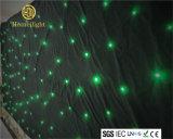 RGB LEIDENE van het Gordijn van de Ster 3in1 Door sterren verlicht Doek