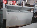 Коммерческие вспенивания верхней части откройте дверцу морозильный аппарат