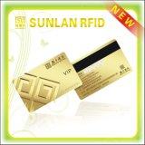 Cartão inteligente magnético sem contato RFID de tamanho personalizado