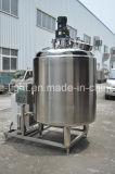 Tank van de Opslag van de Melk van het Sap van het Water van het roestvrij staal de Vloeibare