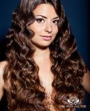Cor 613 Onda de Corpo Cabelos indiano fita virgem em extensões de cabelo