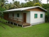 Prefabricated와 유행 디자인된 가벼운 강철 구조물 집 (KXD-48)