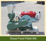 De kleine Machine van de Korrel van het Voer van de Garnalen van de Vissen van de Matrijs van het Gebruik van het Landbouwbedrijf Vlakke