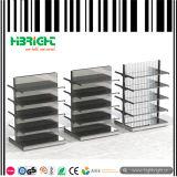 Buch-Speicher-Metallzusammenklappbares Bildschirmanzeige-Regal