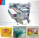 販売の中国の製造業者のための自動茶ボックスセロハンのパッキング機械