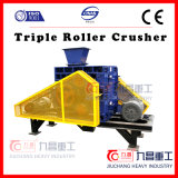 Máquina de pulir de la trituradora triple del rodillo que machaca la máquina con Ce de la ISO