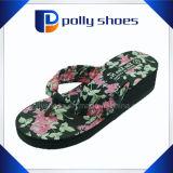 EVA Traslado de calor Impresión señoras zapatillas de tacón alto