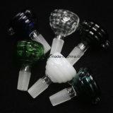 Coloridos Recipientes de cristal 14mm/18mm macho recipientes para el tubo de agua