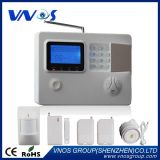 Auto-Dail Mensaje de voz GSM/RTC inteligente sistema de alarma antirrobo inalámbrica