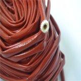 Cable de fibra de vidrio recubiertos de silicona color funda de aislamiento